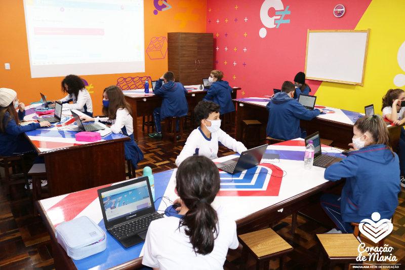 Ensino Fundamental II, Escola Coração de Maria